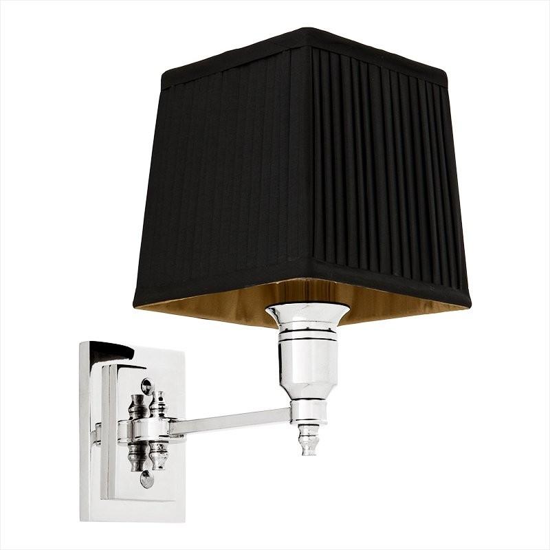 EICHHOLTZ WALL LAMP SINGLE BLK