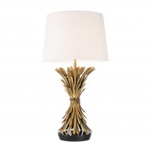 Bonheur Antique Gold Table Lamp