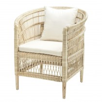 Togo Natural Rattan Armchair