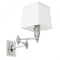 EICHHOLTZ LEXINGTON WALL LAMP SWING WHT