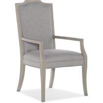Reverie Upholstered Dining Arm Chair