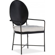 Ciao Bella Metal Dining Arm Chair