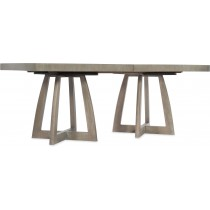 Affinity Rectangle Pedestal Dining Table