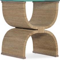 Melange Lenny Woven Side Table