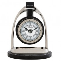 BAILEY EQUESTRIAN CLOCK NICKEL