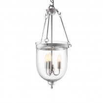Cameron Small Nickel Lantern