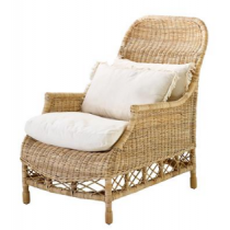 Empire Natural Slimit Rattan Chair
