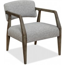 Mason Exposed Wood Armchair