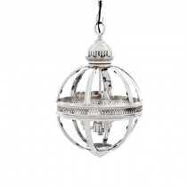 EICHHOLTZ LANTERN RESIDENTIAL SMALL NICKEL