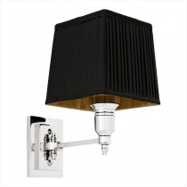 EICHHOLTZ WALL LAMP SINGLE BLK