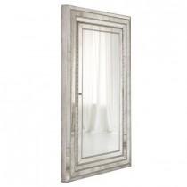 Melange Glamour Floor Mirror with Storage