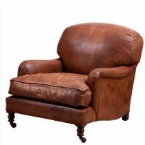 EICHHOLTZ HIGHBURY ESTATE CHAIR TABACCO