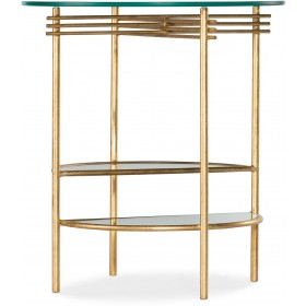 Well Balanced Round Side Table