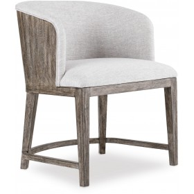 Curata Mountain Modern Dining Chair with Wood Back